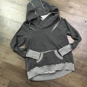 Lululemon Hooded Pullover Sweater With Thumb Holes